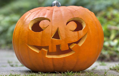 Gresskarlykt til Halloween